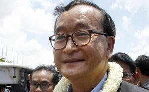 Campuchia kết án ông Sam Rainsy 5 năm tù giam