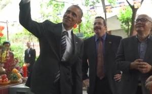 Ông Obama thăm VN: Những hình ảnh chưa từng công bố