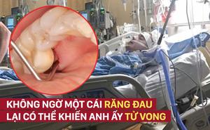 Ông bố 26 tuổi tử vong vì một chiếc răng sâu: Nhiều người lo lắng vì từng phạm sai lầm này