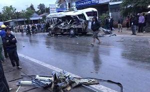 Ba vụ tai nạn liên tiếp trên quốc lộ 48, 6 người tử vong