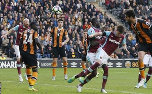 CLIP bản quyền Premier League: Bị lội ngược dòng, West Ham thua trận thứ 4 liên tiếp