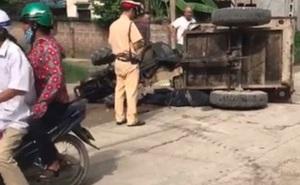 Sự thật thông tin tài xế xe công nông tử vong do bị CSGT truy đuổi ở Hà Nội