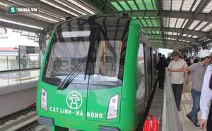 Cận cảnh nhà ga, tàu đường sắt trên cao Cát Linh - Hà Đông