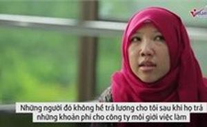 """Thảm cảnh kiếp ôsin ở """"thiên đường"""" Hong Kong"""