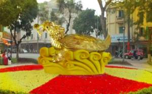 Hà Nội bác đề xuất dựng biểu tượng rùa vàng Hồ Gươm