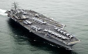 Tàu sân bay thứ 3 của Mỹ áp sát Triều Tiên có sức mạnh như thế nào?