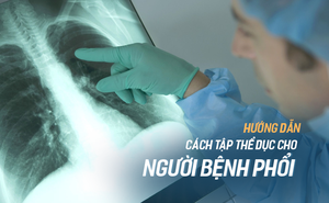 Hai việc nhất định phải làm để phòng tránh và thoát khỏi bệnh về phổi, hô hấp