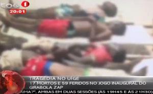 Ít nhất 17 người chết trong vụ giẫm đạp để vào sân xem bóng đá