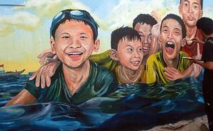"""""""Lý Sơn của Quảng Nam"""" hút hồn du khách bởi làng bích họa được vẽ bởi sinh viên Đà Nẵng"""