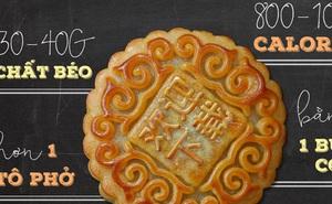 1 chiếc bánh Trung thu bằng 5 cái đùi gà: Ăn thế nào để không bị tăng cân?