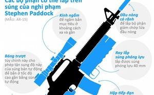 Mổ xẻ khẩu súng của nghi phạm trong vụ tấn công ở Las Vegas