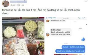"""Háo hức mua online lẩu tokbokki Hàn Quốc, mẹ trẻ """"chưng hửng"""" nhận về hộp đồ lèo tèo kèm 3 muỗng nước sốt"""