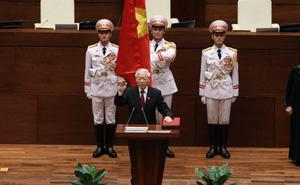VIDEO: Lễ tuyên thệ nhậm chức của Chủ tịch nước
