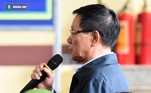 Cựu tướng Phan Văn Vĩnh liên tục bóp trán, lộ vẻ mệt mỏi trước phút khai nhầm
