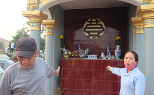 Nhân chứng phát hiện 1 số kẻ xấu đập phá bát hương lúc mờ sáng ở Hưng Yên kể gì?
