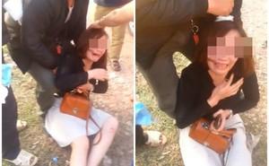 Bắc Giang: Người vợ hoảng loạn, gào thét giữa đường khi bị chồng đánh chảy máu đầu