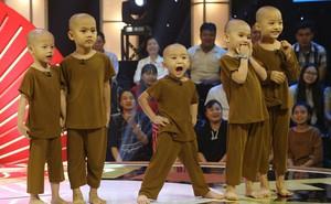 """Cuộc sống của 5 chú tiểu bị bỏ rơi, """"khuất phục"""" Trấn Thành - Trường Giang để thắng 100 triệu"""