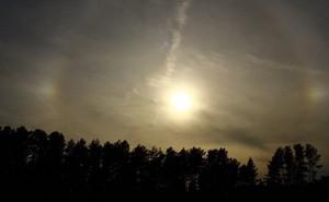 Hiện tượng 3 mặt trời xuất hiện ở St Petersburg