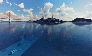 Quảng Ninh: Mở đường hầm 2 km xuyên vịnh biển