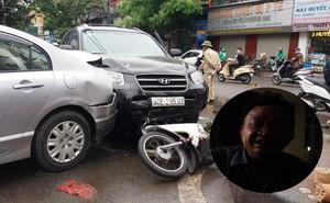 Ô tô tông liên hoàn ở cổng sau BV Bạch Mai: Cô gái tử vong khi đi mua cơm cho mẹ và em