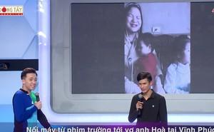 Việt Hương khóc trước câu chuyện mưu sinh của chàng trai khiếm thị