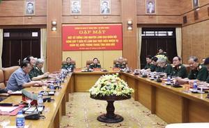 Tướng lĩnh quân đội đóng góp ý kiến về chiến lược quốc phòng