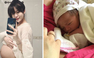 Nhật ký đi đẻ của hot girl Tú Linh: Chờ mãi con không chịu ra, chưa bao giờ mất bình tĩnh như thế trong cuộc đời