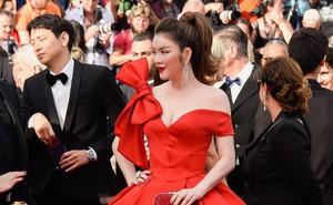 """Lý Nhã Kỳ bình thản đáp trả trước lời mỉa mai bị ống kính máy ảnh """"lơ đẹp"""" trên thảm đỏ Cannes"""