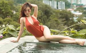 Hương Tràm khoe vóc dáng đồng hồ cát gợi cảm khi diện bikini