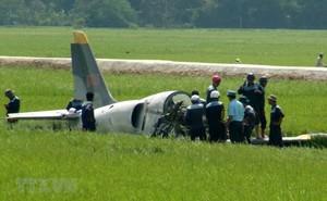 Những vụ rơi máy bay quân sự trong những năm gần đây ở Việt Nam