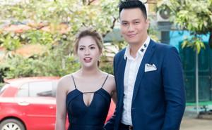 Vợ Việt Anh ăn mặc sexy, đẹp nổi bật tại sự kiện