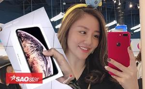 Đã có sao Việt đầu tiên sở hữu iPhone Xs Max vừa mới bán ra sáng nay