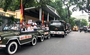 Loại xe hoàn toàn mới xuất hiện trong đoàn xe chở linh cữu Chủ tịch nước Trần Đại Quang
