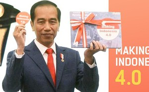 """Giấc mơ top 10 nền kinh tế lớn nhất thế giới và kế hoạch """"Making Indonesia 4.0"""" của Tổng thống Joko Widodo"""