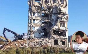 """Tòa nhà của trùm ma túy Tàng """"Keangnam"""" bị đánh sập hoàn toàn"""