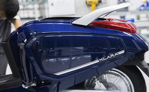 VinFast ra mắt xe máy điện thông minh Klara: Kết nối internet 3G, có khả năng chống ngập nước, tự động báo tình huống khẩn cấp!