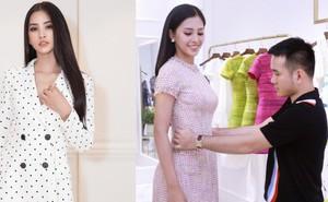 Trần Tiểu Vy khoe nhan sắc rạng rỡ, tất bật chuẩn bị váy áo trước khi lên đường dự thi Miss World