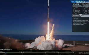 Tên lửa SpaceX được tái sử dụng, mang theo 64 vệ tinh lên quỹ đạo