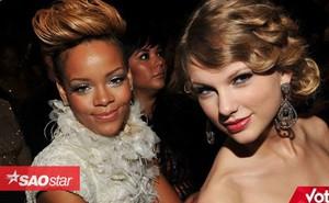 Taylor Swift và Rihanna: Danh hiệu 'Nghệ sĩ thập kỉ' Billboard nên về với ai?