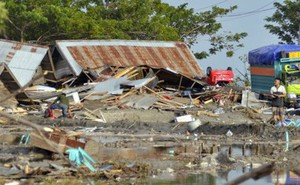 Indonesia: Lở đất chôn vùi 34 ngôi nhà, 8 người chết