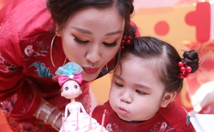 Maya tổ chức sinh nhật hoành tráng cho con gái