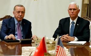 """Mỹ-TNK đàm phán chóng vánh, kết quả khiến nhiều người """"cau mày"""": Mỹ cứ ngỡ thành công nhưng thực chất toàn nhường Thổ?"""
