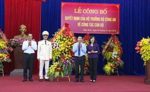 Phó Giám đốc Công an tỉnh Hưng Yên được bổ nhiệm làm Giám đốc Công an tỉnh Bắc Ninh