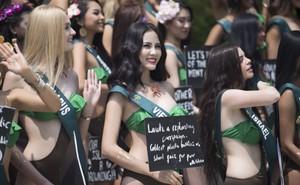 Hoàng Hạnh mặc bikini khoe thân hình bốc lửa tại Miss Earth 2019