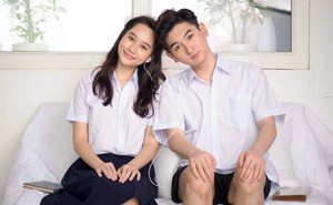 """Con trai nuôi Minh Nhí chụp ảnh tình cảm với """"bạn gái"""" xinh đẹp"""