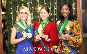 Đại diện Việt Nam giành huy chương vàng đầu tiên tại Hoa hậu Trái đất 2019