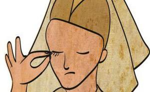 Những điều kỳ quặc nhất thời Trung Cổ: Nhổ sạch lông mày, lông mi cũng thành trào lưu
