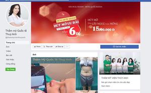 Cô gái co giật, ngất lịm khi hút mỡ: TMV quảng cáo nâng ngực dù chỉ được cấp phép gội đầu