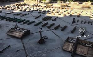 Bí mật bất ngờ trong kho vũ khí khổng lồ IS giấu dưới lòng đất ở Deir Ezzor, Syria