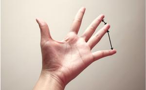 Khoảng cách giữa các ngón tay sẽ tiết lộ bạn sống độc lập hay phụ thuộc